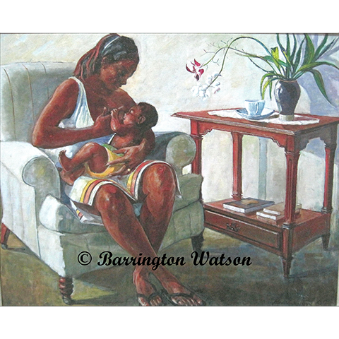 Barrington Watson's Mother and Child III