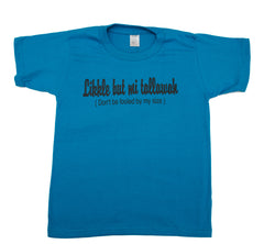 """Likkle but Mi Tallawah"" Womens Graphic Tee"