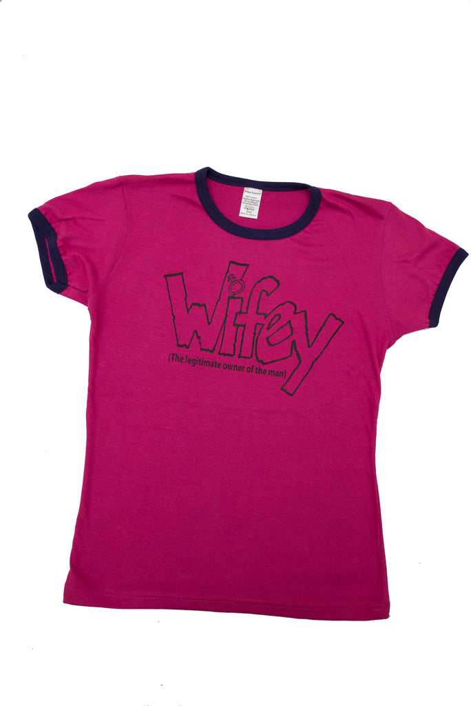 """Wifey"" Womens Graphic Tee"