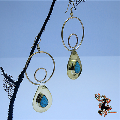 Earth Angel Turquoise Earrings