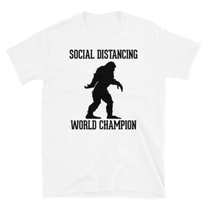 Social Distancing Wold Champion - T-Shirt - real men t-shirts, Men funny T-shirts, Men sport & fitness Tshirts, Men hoodies & sweats