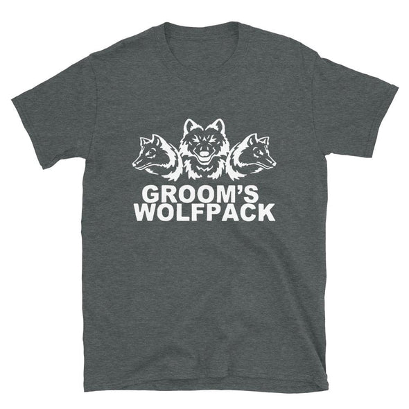 Groom's Wolf Pact - T-Shirt - real men t-shirts, Men funny T-shirts, Men sport & fitness Tshirts, Men hoodies & sweats