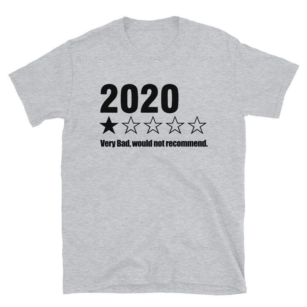 2020 Bad Year T-Shirt, Very Bad Would Not Recommend Funny Shirt, Worst Year Ever t Shirt, goof gift tee - real men t-shirts, Men funny T-shirts, Men sport & fitness Tshirts, Men hoodies & swe