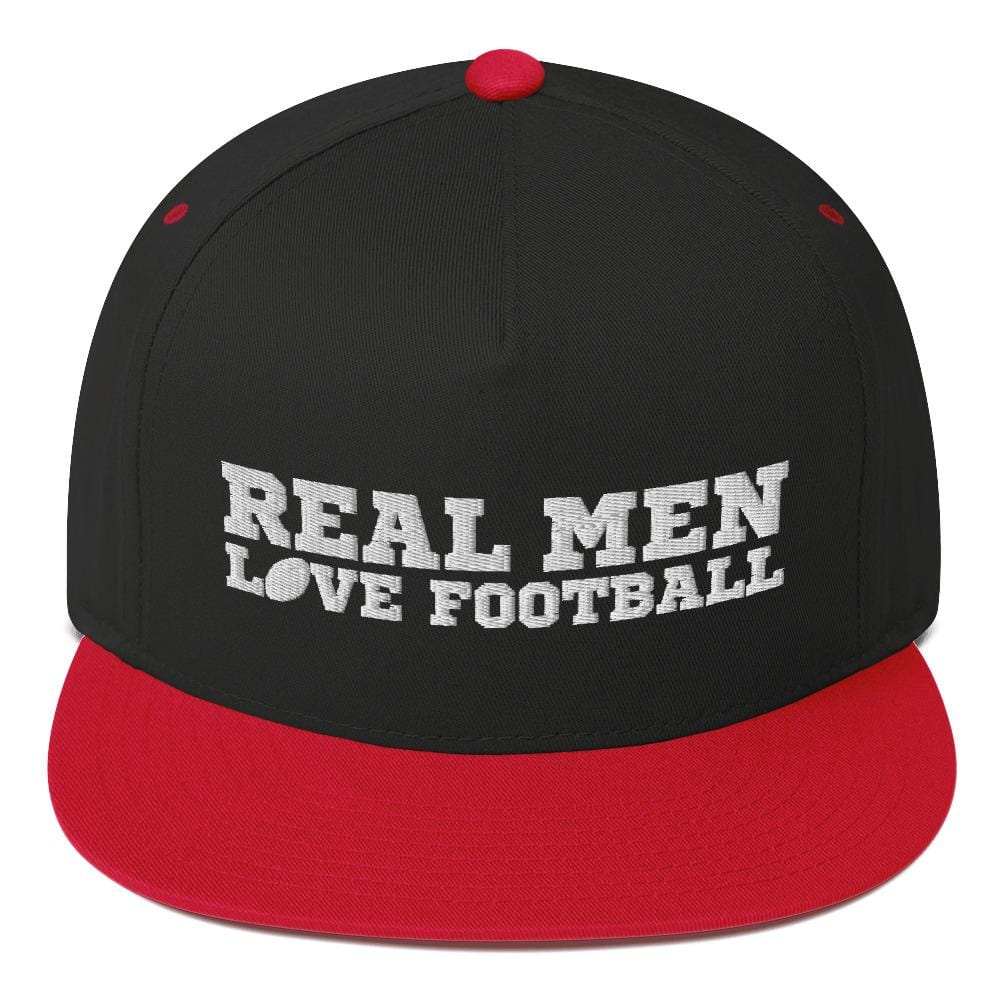 Real Men Watch Football - Snapback - real men t-shirts, Men funny T-shirts, Men sport & fitness Tshirts, Men hoodies & sweats
