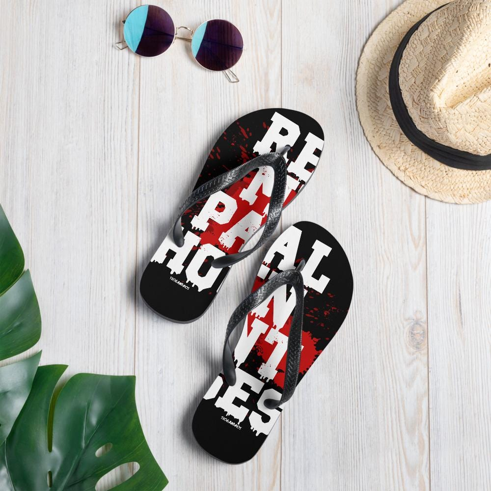Real Men Paint Houses Flip-Flops - real men t-shirts, Men funny T-shirts, Men sport & fitness Tshirts, Men hoodies & sweats