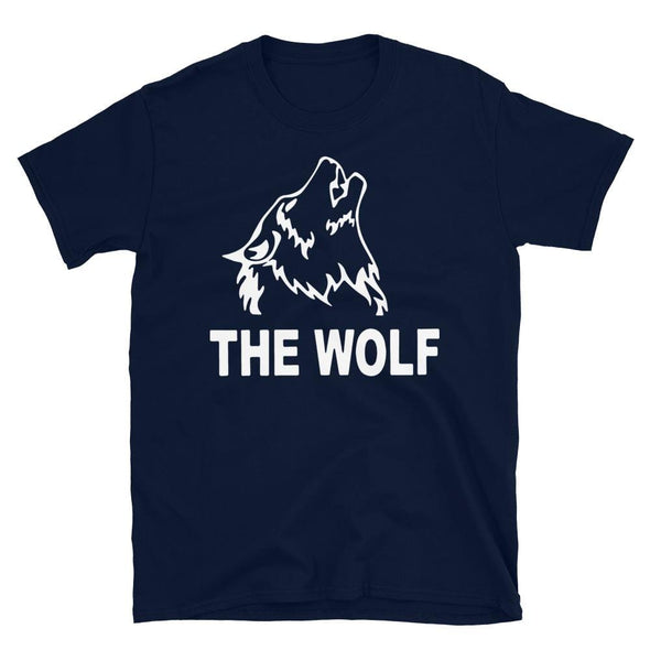 The Wolf - T-Shirt - real men t-shirts, Men funny T-shirts, Men sport & fitness Tshirts, Men hoodies & sweats