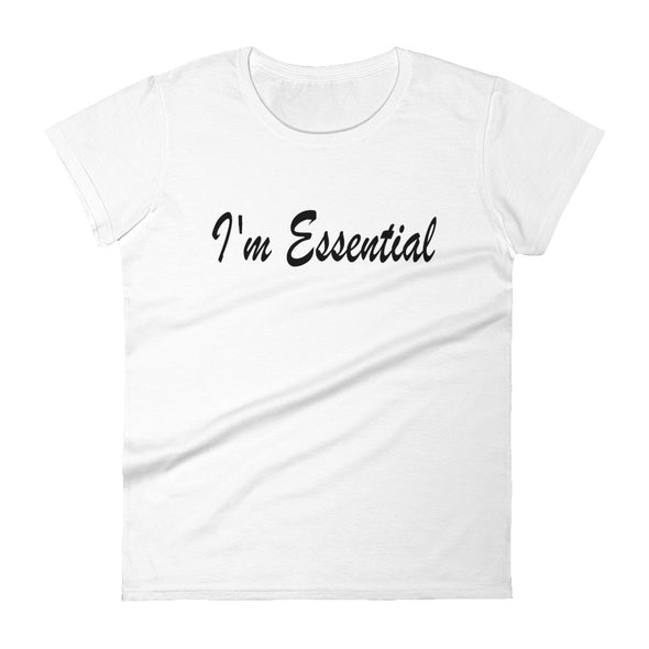 I'm Essential - women t-shirt - real men t-shirts, Men funny T-shirts, Men sport & fitness Tshirts, Men hoodies & sweats