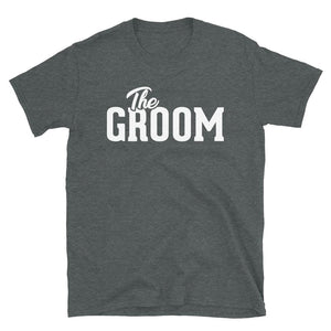The Groom - T-Shirt - real men t-shirts, Men funny T-shirts, Men sport & fitness Tshirts, Men hoodies & sweats