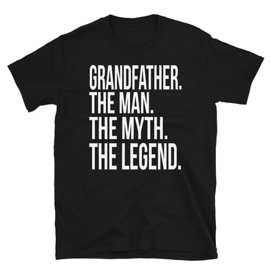 Grandfather The Man The Myth The Legend - women T-Shirt - real men t-shirts, Men funny T-shirts, Men sport & fitness Tshirts, Men hoodies & sweats