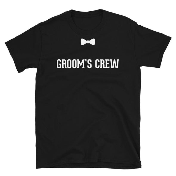 Groom's Crew - T-Shirt - real men t-shirts, Men funny T-shirts, Men sport & fitness Tshirts, Men hoodies & sweats