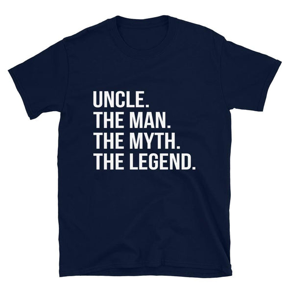 Uncle, The Man, The Myth, The Legend T-Shirt - real men t-shirts, Men funny T-shirts, Men sport & fitness Tshirts, Men hoodies & sweats