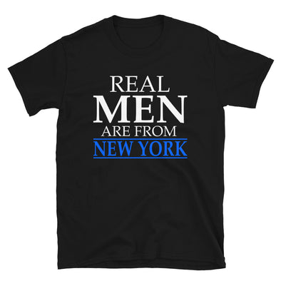 Real Men Are From New York - T-Shirt - real men t-shirts, Men funny T-shirts, Men sport & fitness Tshirts, Men hoodies & sweats