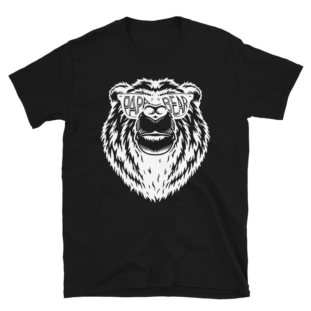 Papa Bear T-shirt, Dad Shirt Fathers Day tshirt, gift for dad, soon to be parents, husband present, family shirt matching shirts - real men t-shirts, Men funny T-shirts, Men sport & fitness T