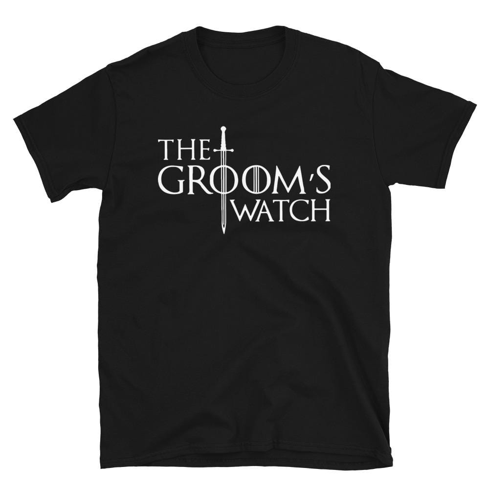 The Groom's Watch - T-Shirt - real men t-shirts, Men funny T-shirts, Men sport & fitness Tshirts, Men hoodies & sweats