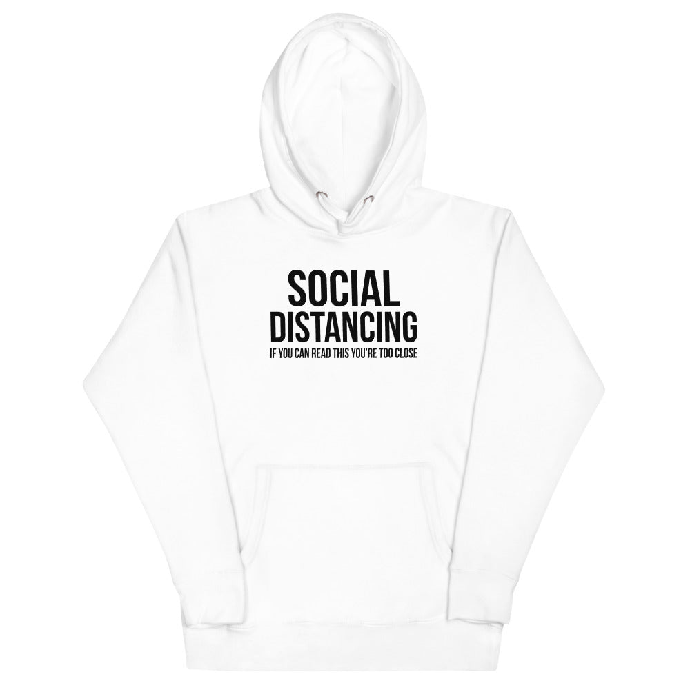 Social Distancing - Hoodie - real men t-shirts, Men funny T-shirts, Men sport & fitness Tshirts, Men hoodies & sweats