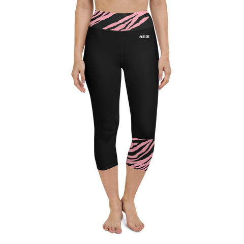 AS31 Yoga Capri Leggings Tiger