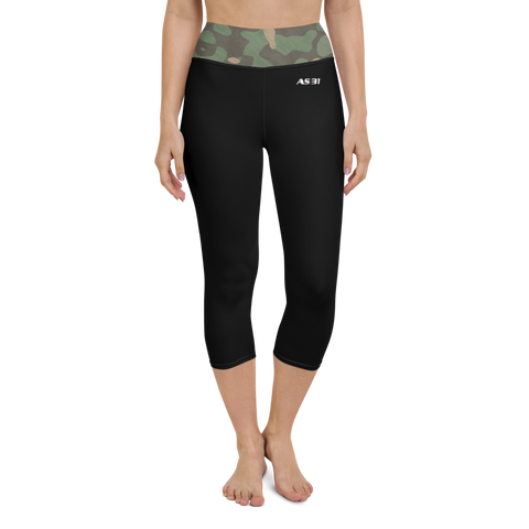 AS31 Yoga Capri Leggings Camouflage