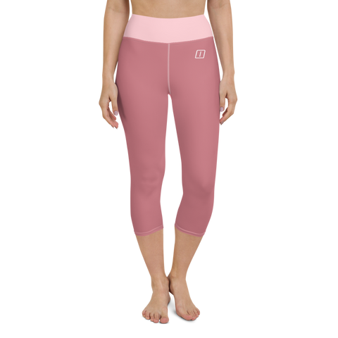 Yoga Capri Leggings MAUVE