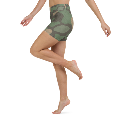 AS31 Yoga Shorts Camouflage