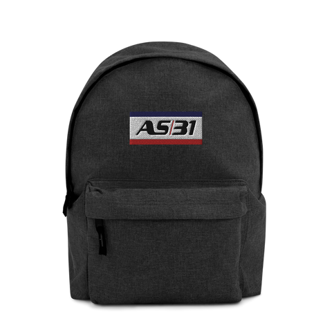 AS31 Embroidered Backpack Company