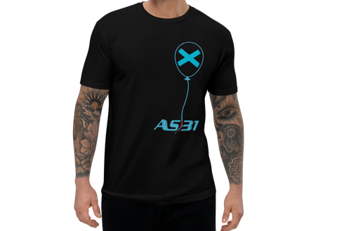 "AS31 T-Shirt mod. 3600 ""X"" Blue 7"