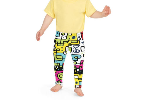 AS31 Sportswear Kid's Leggings CONFUCIO full