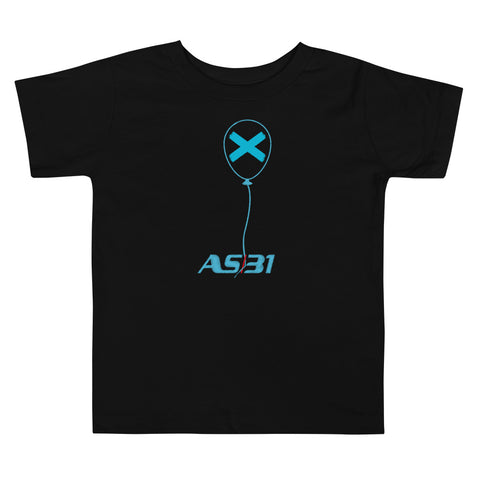 "AS31 Toddler T-shirt (2-5 anni) mod. ""X"" Blue 7 Unisex"