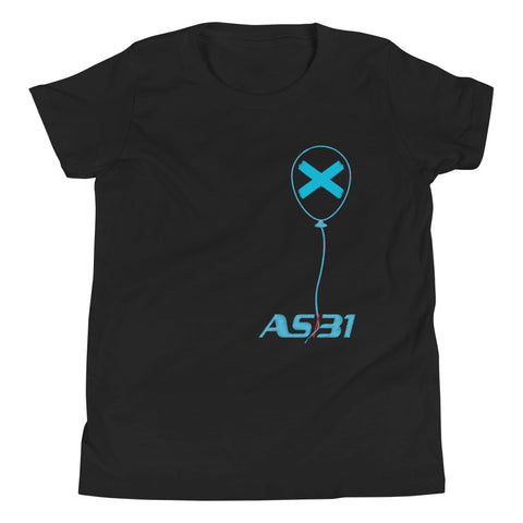 "AS31 Teenager T-Shirt mod. ""X"" Blue 7 Unisex"