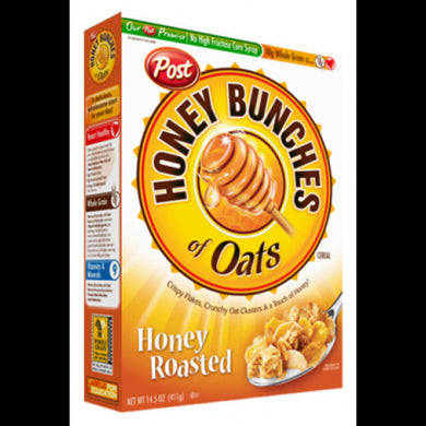 BULK HONEY BUNCHES OF OATS CRUNCHY