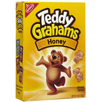 HONEY TEDDY GRAHAMS 10oz