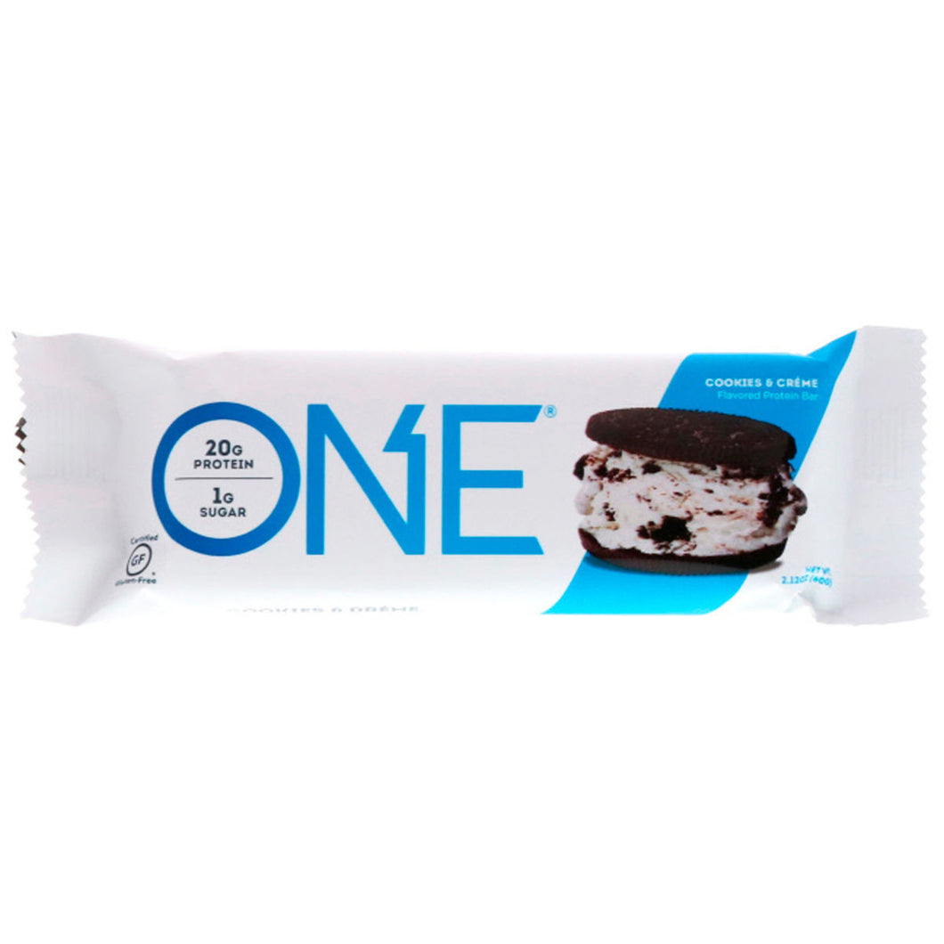 ONE Bar Cookies & Cream Protein Bar (Box of 12 Bars)