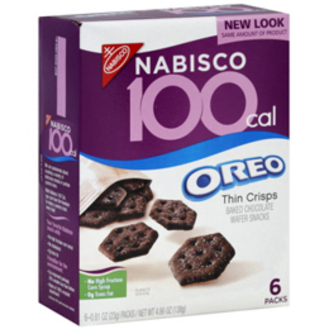 Oreo Crisps - 100 Calorie (0.80 oz packs)