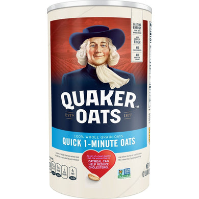 QUAKER QUICK OATS 12/42 OZ