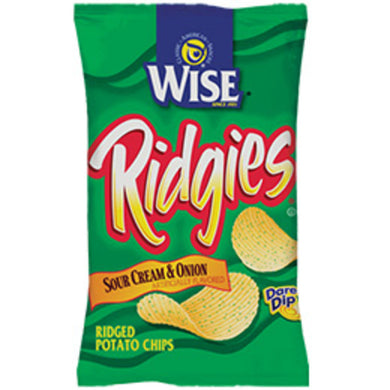 RIDGIES SOUR CREAM and ONION 72/.75OZ