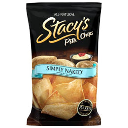Stacy's Simply Naked Pita Chips Single-Serve Bags (Case of 24 Bags)