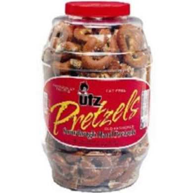 Utz Hard Pretzel Barrel