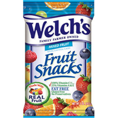 Welch's Mixed Fruit Snacks (Box of 48 Pouches)
