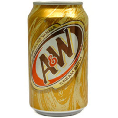 A&W Cream Soda (12 oz cans)