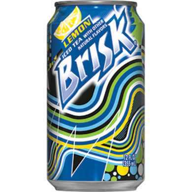 Lipton Brisk Iced Tea (12 oz cans)