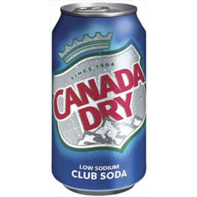 CLUB SODA***CANADA DRY***24/12oz
