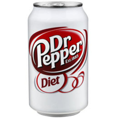 Diet Dr Pepper (12 oz cans)