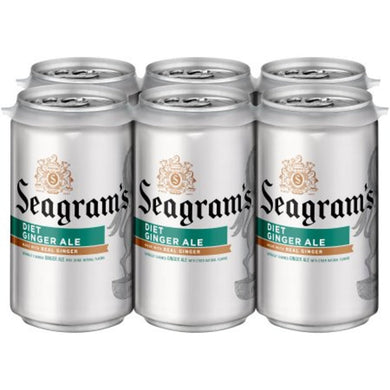 SEAGRAMS DIET GINGER ALE 24/7.5oz