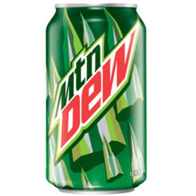 Mountain Dew (12 oz cans)
