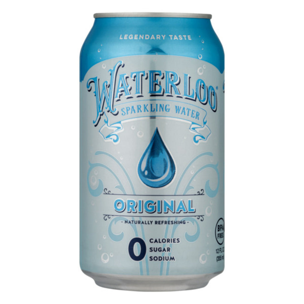 WATERLOO SPARKLING ORIGINAL 24/12OZ