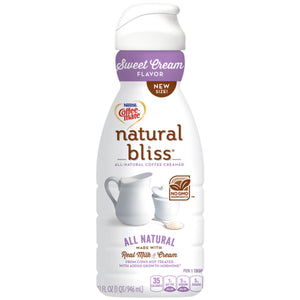 COFFEE MATE NATURAL BLISS  BOTTLE
