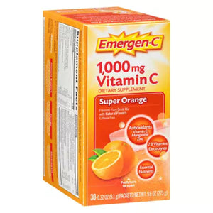 EMERGEN C SUPER ORANGE 30PKT