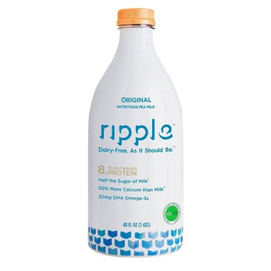 RIPPLE DAIRY FREE MILK 48 OUNCE