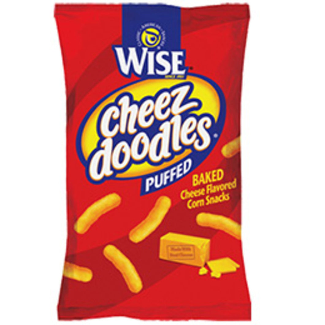 Wise Cheese Doodles, Puffy (1 oz bags)