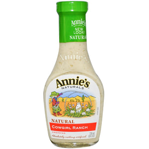 ANNIES COWGIRL RANCH DRESSING 6/8fz