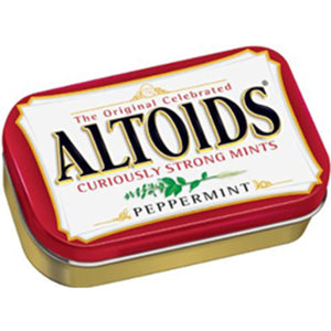 ONE PACK**ALTOIDS MINTS PEPPERMINT